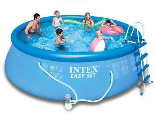 Nadzemní bazén na zahradu pro celou rodinu