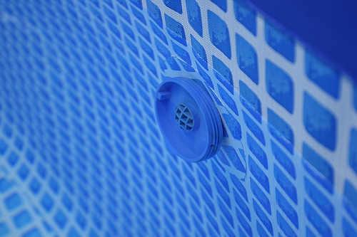 Trojvrstvá laminovaná folie bazénu vyztužená polyesterovou tkaninou