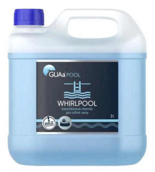 Bezchlórová chemie pro vířivé vany GUAa-WHIRLPOOL 3l