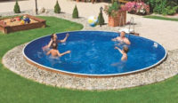 Kruhový bazén Orlando Premium DL 4,60 x 1,22 m s pískovou filtrací