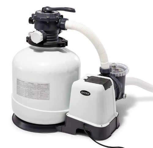 Kvalitní písková filtrace s čerpadlem pro velké zahradní bazény