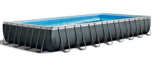 Luxusní obdélníkový bazén na velké zahrady kvalitní písky