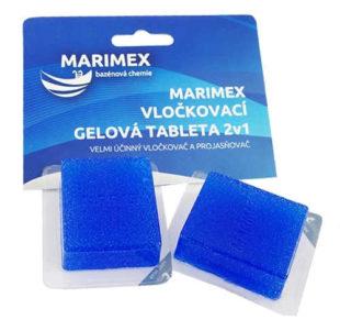 Vločkovací gelová tableta 2v1 Marimex