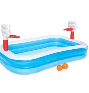 Dětský nafukovací basketbalový bazén