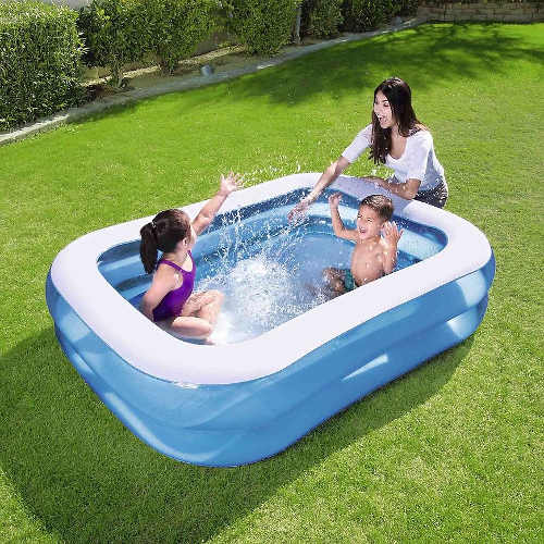 Dětský obdélníkový nafukovací bazén