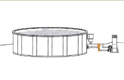 Efektivní elektrický ohřev určený pro nadzemní typ bazénů