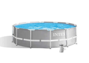Moderní kruhový bazén Intex s kartušovou filtrací