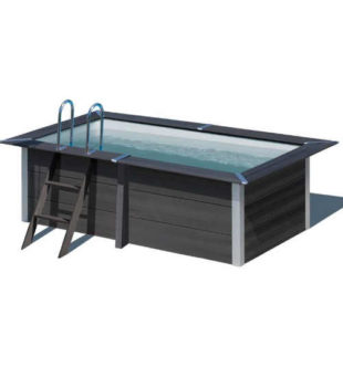 Nadzemní bazén v luxusním designu