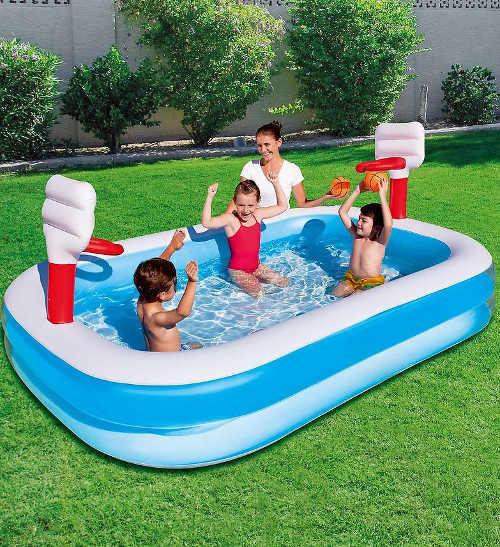 Nafukovací bazén dětský basketbalový
