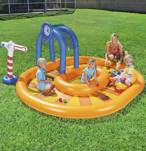 Nafukovací bazénkové centrum dětské