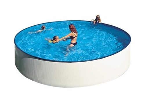 Praktický rodinný nadzemní bazén