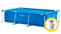 Rodinný nadzemní bazén s kartušovou filtrací