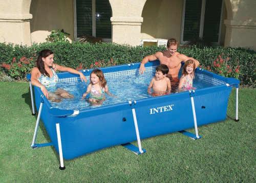 Rodinný praktický bazén s kartušovou filtrací