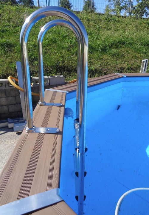 bazén nadzemní luxusní design