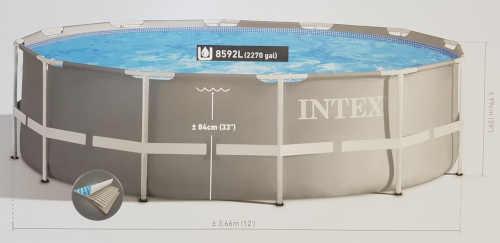 praktický bazén s kartušovou filtrací