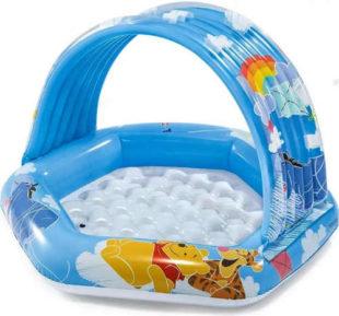 Nafukovací bazének se stříškou pro nejmenší