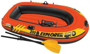 Nafukovací člun INTEX Explorer Pro 200 s nosností 120 kg