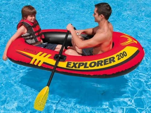 Nafukovací člun na dovolenou