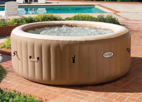 Přenosný nafukovací vířivý bazén na terasu až pro 6 osob