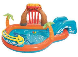 Velké nafukovací vodní hřiště pro nejmenší děti