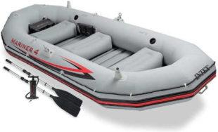 Velký nafukovací raft člun Intex Mariner 4 Set