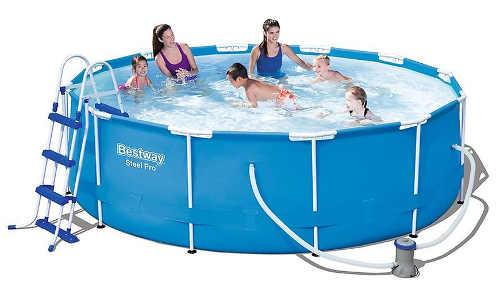 Levný nadzemní bazén Bestway včetně filtrace