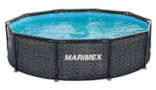 Levný ratanový bazén na zahradu Marimex Florida 3,05x0,76 m