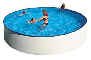 Nadzemní plechový bazén s rychlou a snadnou montáží GRE Splash 3,5 x 0,9m