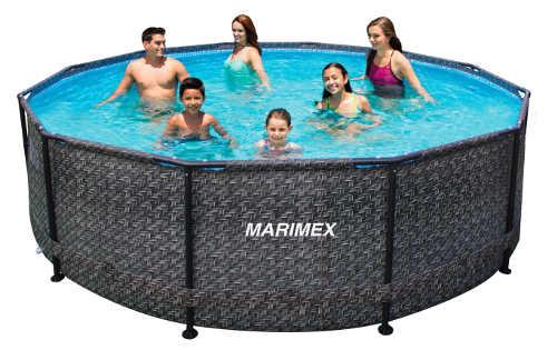 Ratanový bazén na zahradu průměr 3 metry