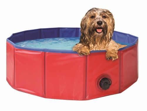 Skládací bazének pro koupání psa