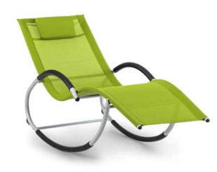 Houpací ergonomický tvarované lehátko pro relaxaci u bazénu