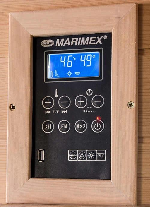 Ovládací panel domácí infrasauny Marimex