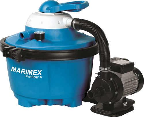 Výkonná bazénová písková filtrace Marimex ProStar 4