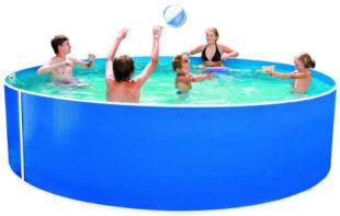 Oblíbený zahradní bazén Orlando 3,66x0,91 m vhodný k zapuštění