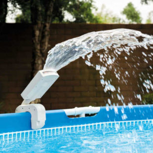 Bazénová sprška s barevnými LED diodami