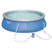 Kruhový nafukovací bazén s kartušovou filtrací