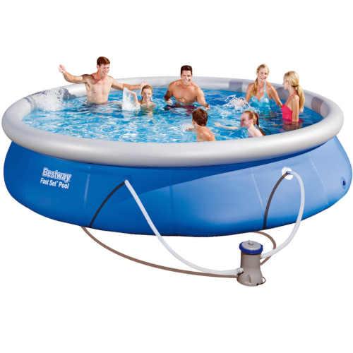 Nadzemní bazén s filtračním setem