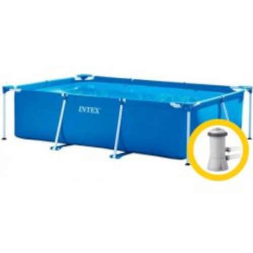 Rodinný kvalitní nadzemní bazén s filtrací