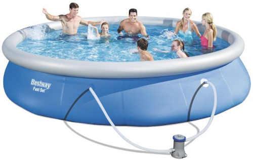bazén kruhový nafukovací s filtrací