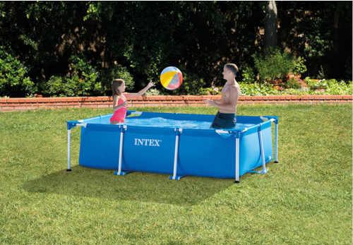 kvalitní nadzemní typ rodinného bazénu