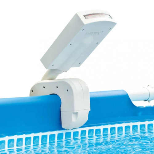 světelná bazénová show díky spršce