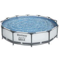Bazén s kovovou konstrukcí a filtrací