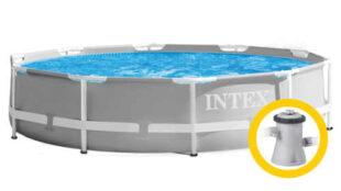 Bazén s pevnou konstrukcí a kartušovou filtrací