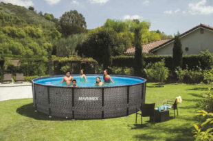 Kruhový bazén Florida v ratanovém designu