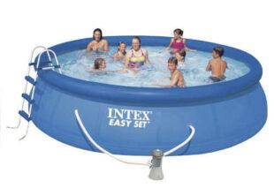 Kruhový bazén Intex s příslušenstvím