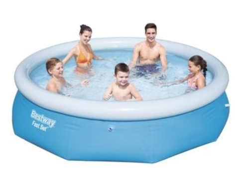 Kruhový menší bazén bez filtrace