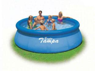 Kruhový nadzemní bazén bez filtrace