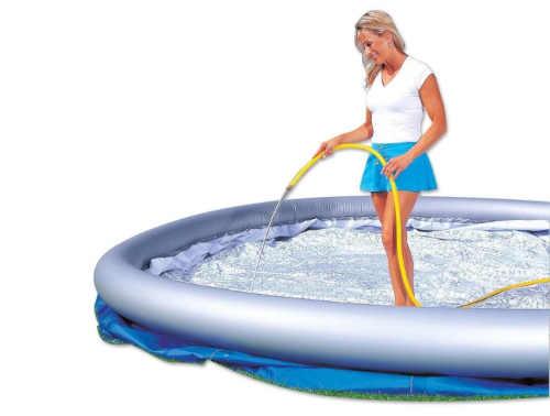 klasický nafukovací bazén venkovní