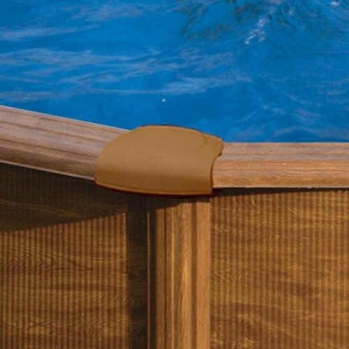 oválný bazén v moderním designu