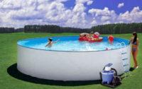 Kvalitní kruhový bazén s filtrací